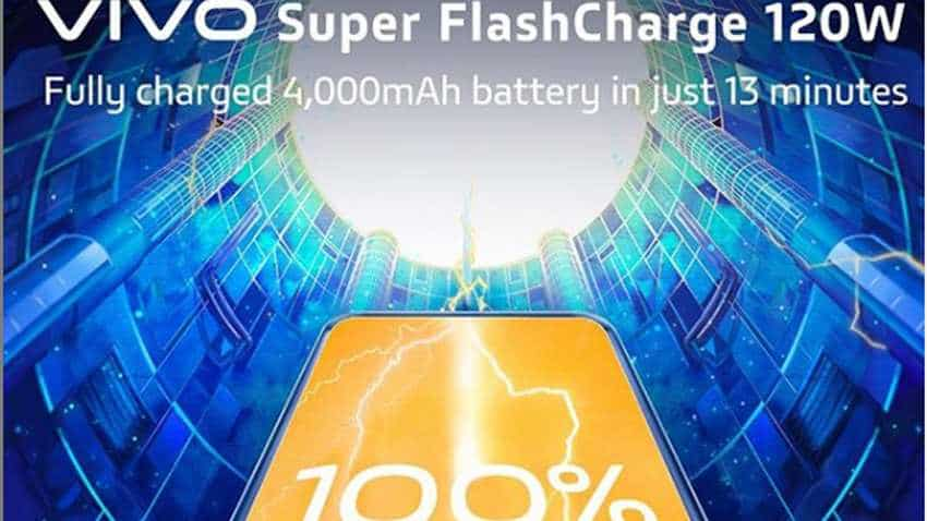 Vivo unveils Super FlashCharge 120W tech, claims to fully charge smartphones in just 13 minutes