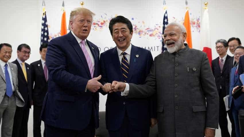 G20 Summit: PM Modi, Trump, Abe discuss Indo-Pacific, connectivity, infrastructure development