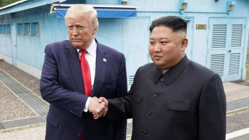 Rare! Donald Trump lands in former enemy country, meets Kim Jong-un