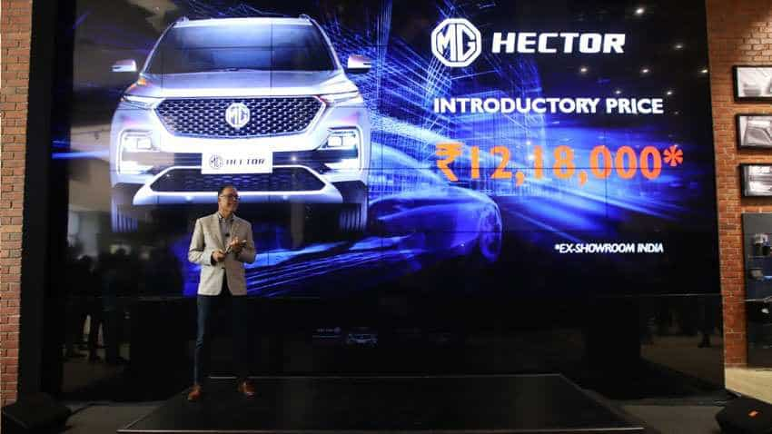 MG Hector already a big hit? 10k+ bookings in just 23 days | Check prices, delivery, mileage and more