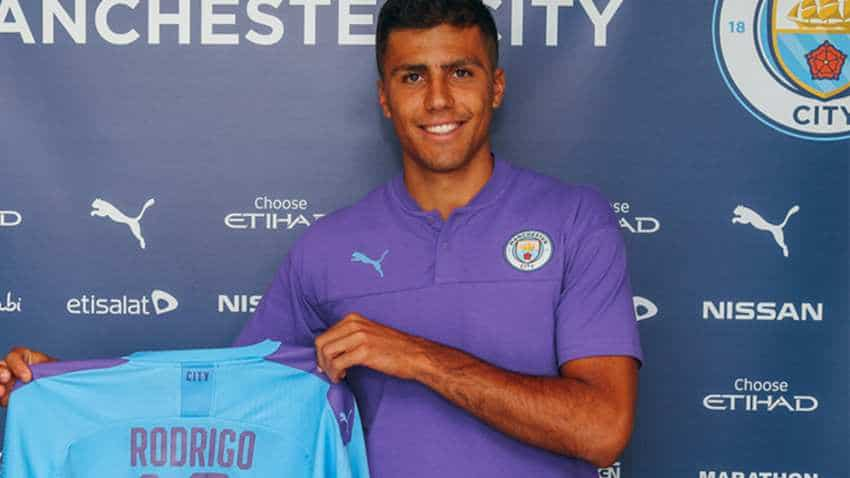 Manchester City signs Rodri from Atletico Madrid for club record fee of 70 mn euro