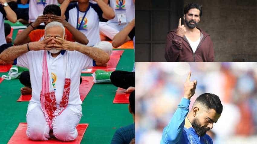 Surprise! PM Narendra Modi beats Ramdev, MS Dhoni, Virat Kohli, Akshay Kumar as the top fitness influencer in country