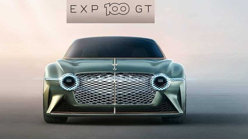 Future of grand touring Bentley EXP 100 GT concept car unveiled - What an amazing machine!
