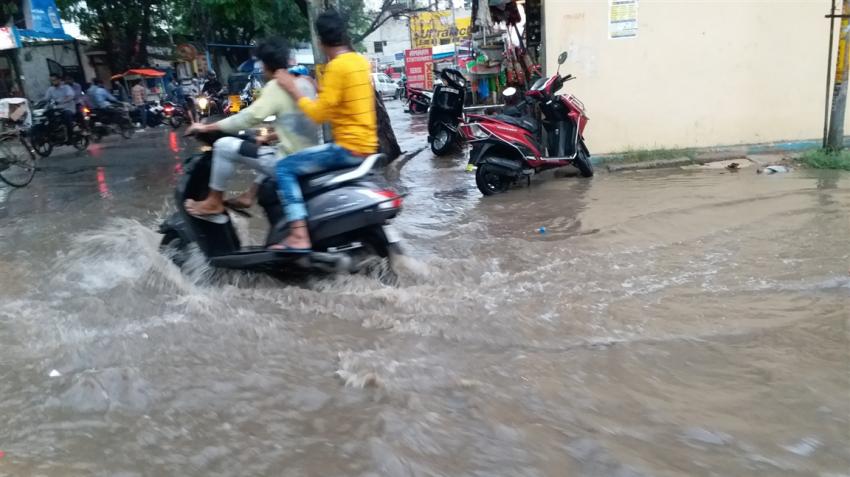 Rain hampers train services to Assam's Barak Valley, Tripura; monsoon rains unlikely in Delhi-NCR