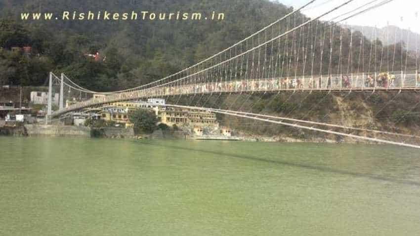 Rishikesh's Laxman Jhula bridge closed