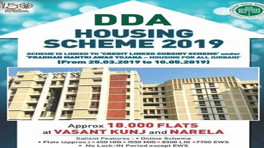DDA flats in Vasant Kunj, Narela: Draw of lots to be held on July 23