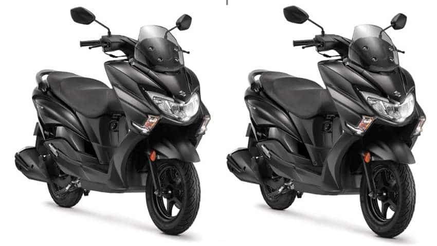 Suzuki Burgman Street 125cc gets new colour edition - First scooter in India with this advance feature