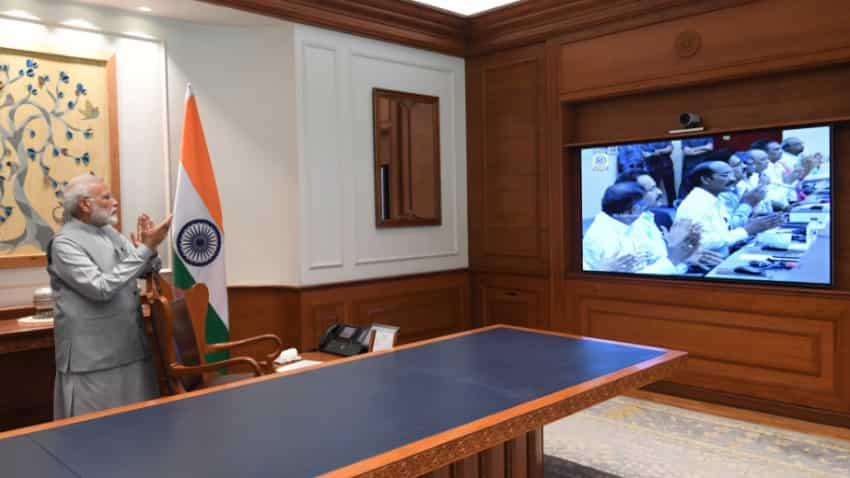 Chandrayaan 2 launch: PM Narendra Modi applauds ISRO feat