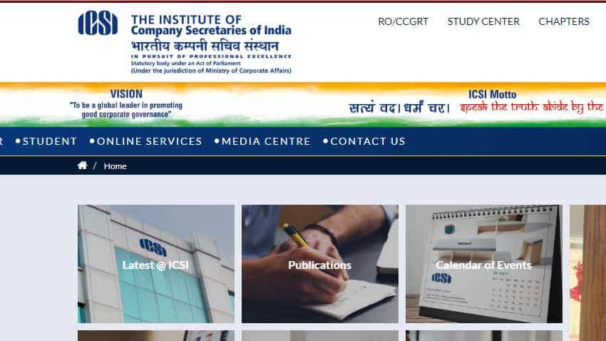 ICSI CS Foundation Result 2019 DECLARED at icsi.edu, icsi.examresults.net: Check Now, follow these steps