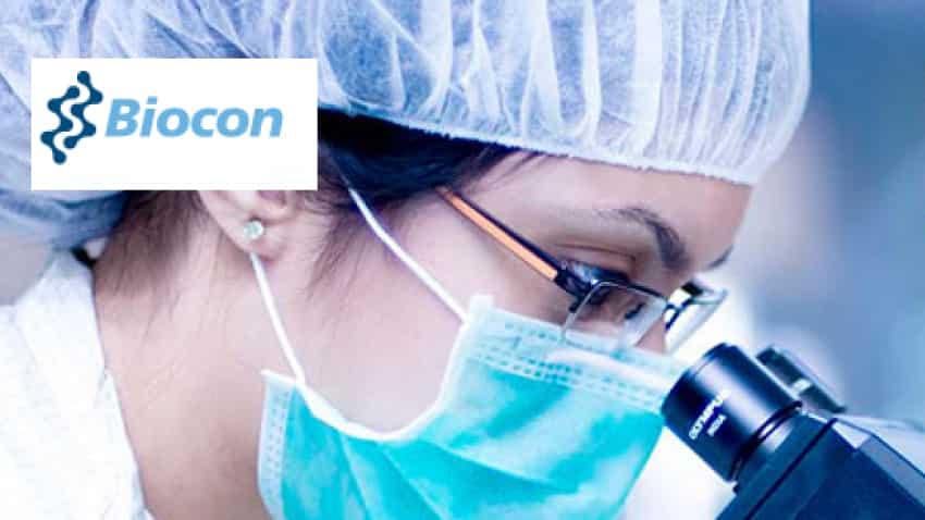 Biocon net zooms 86% in first quarter