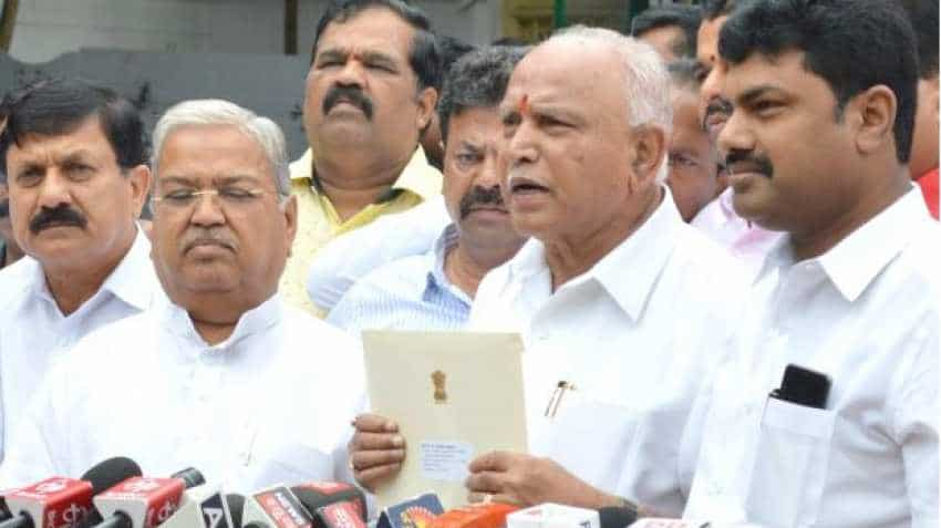 BS Yeddyurappa oath-taking ceremony: Karnataka BJP chief to take oath as CM today