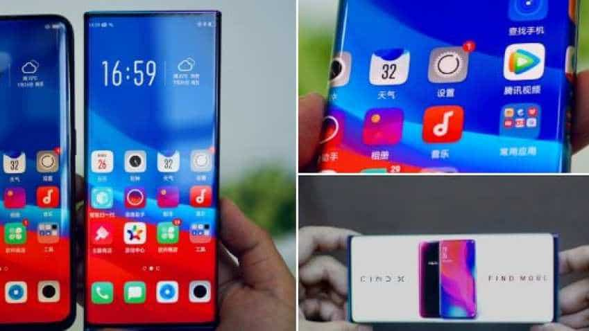 WATCH: And, the innovation continues! Oppo shows off 'Waterfall Screen' expected to be launched in 2020