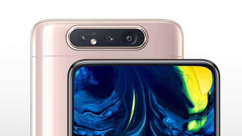 Samsung Galaxy A80 with world's first triple rotating camera goes on sale in India; check price and offers