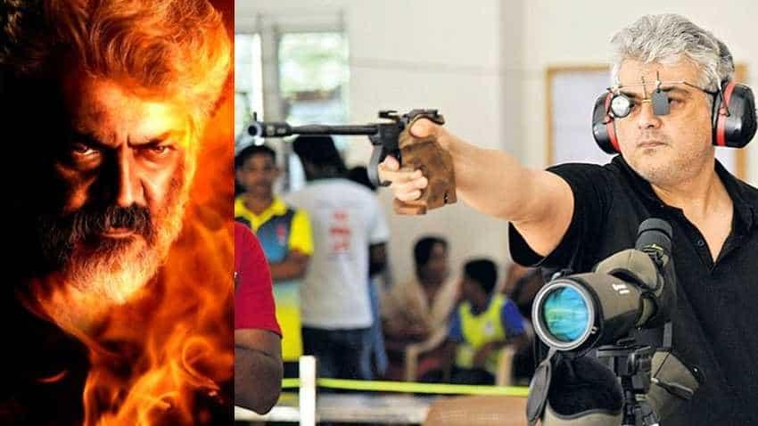 Thala Ajith qualifies for shooting championship - BULL'S EYE!