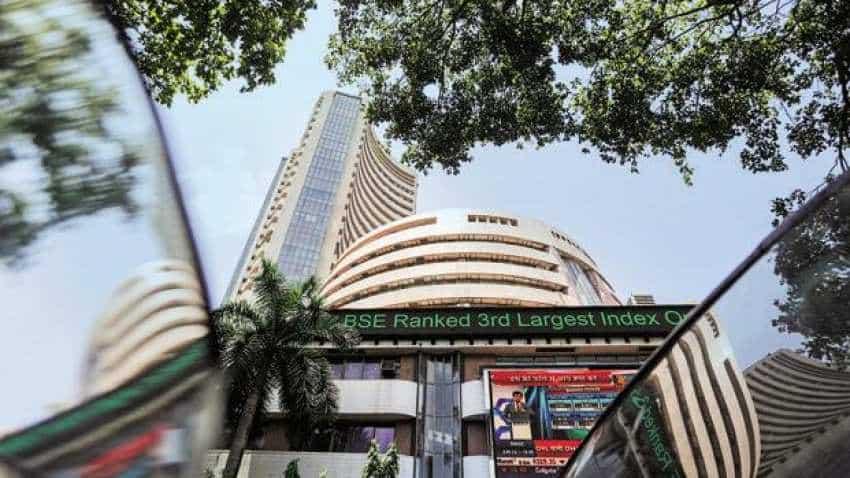 Sensex tanks over 580 points, Nifty breaks 10,850 levels, Bank Nifty below 27,500 levels; Vedanta, SBI stocks bleed