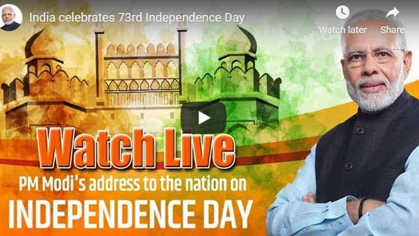 FULL VIDEO of PM Narendra Modi Independence Day Speech, Address To Nation and Flag Hoisting Ceremony - WATCH