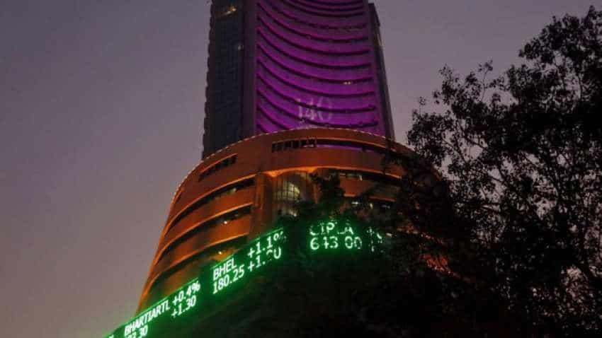 Sensex regains early losses, Nifty climbs 11K, Bank Nifty above 28K; Vodafone Idea, Apollo Hospitals stocks gain