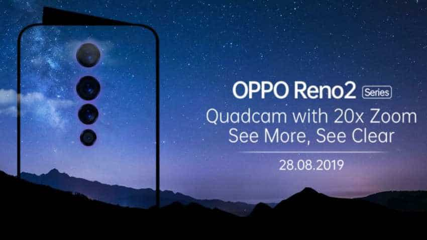 Oppo Reno 2 India launch date August 28; Check features