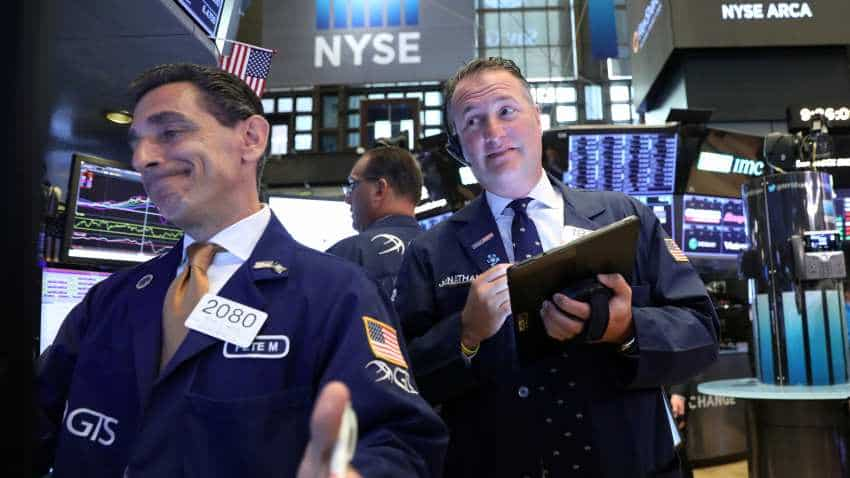 Global stocks rise with focus on economic stimulus; US yield curve briefly inverts