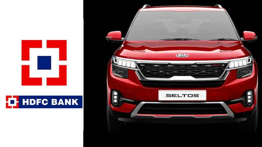 Kia Seltos Hdfc Bank Car Loan Offer Emi At Rs 1 234 Lakh Onwards