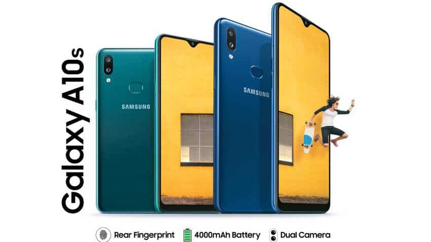 Samsung Galaxy A10s smartphone launched! Prices start at Rs 9,499; check features