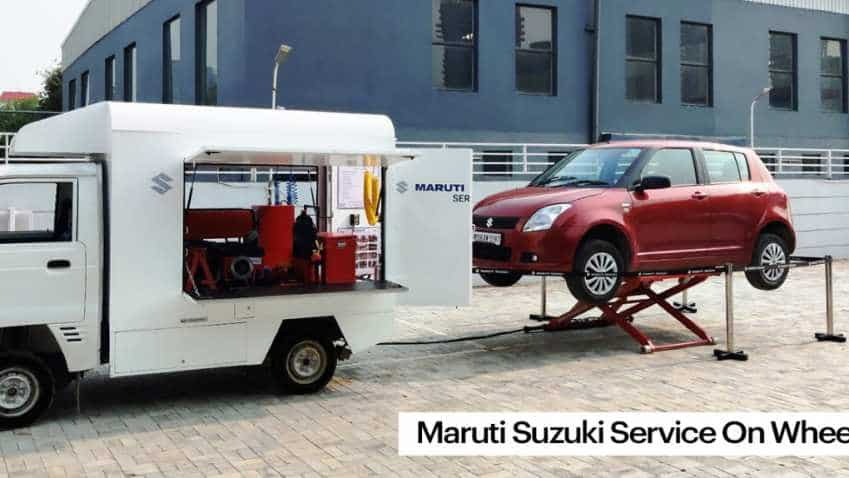 Maruti Suzuki launches 'Service on Wheels', offers car service at your doorsteps