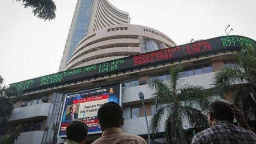 Sensex scales on ease in China-US trade tension, Nifty regains 11K; Tata Steel, Vodafone Idea, Sun Pharma stocks gain