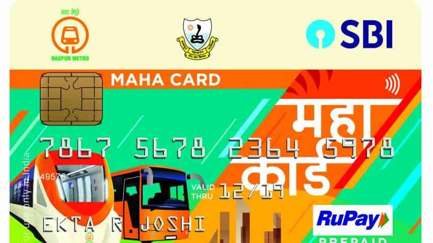 SBI-Nagpur Metro prepaid MAHA card; Check features, travellers' benefit