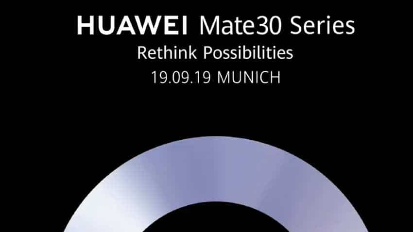 Huawei Mate 30 series to be launched on September 19: Here is what to expect