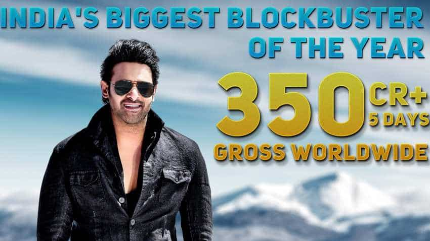 Saaho box office collection: BIG ACHIEVEMENT! Prabhas rocks in Hindi too! Film enters Rs 100 cr club in just 5 days