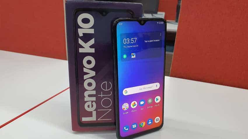 Lenovo K10 Note, A6 Note, Z6 Pro smartphones launched in India: Check price, features