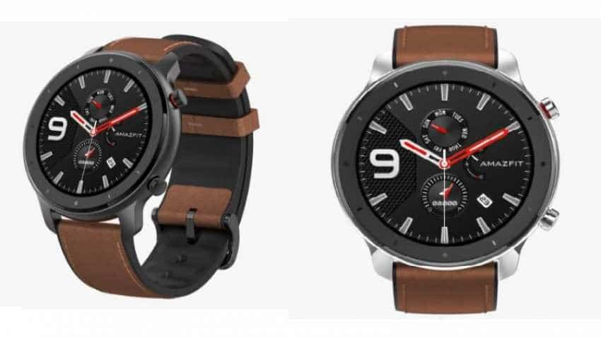 Huami Amazfit GTR 47.2 launched in India priced at Rs 10,999, here's what this smartwatch offers