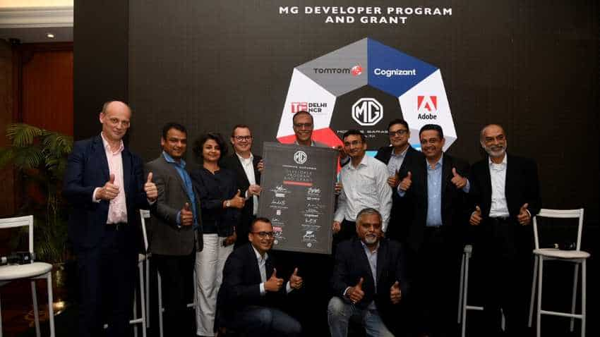 BIG OPPORTUNITY for innovators! MG Motor India partners with tech giants to launch MG Developer Program & Grant