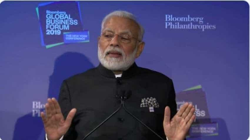 Modi at Bloomberg Business Forum: PM Narendra Modi invites world to invest in India