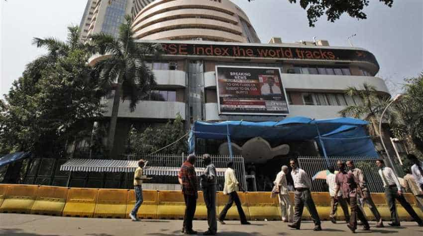 Sensex down 100 points, Nifty at 11,527; NTPC, Infosys, Wipro major gainers