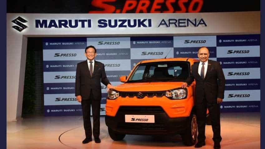 Maruti S-Presso priced at Rs 3.69 lakh LAUNCHED in India; check out this Renault Kwid rival
