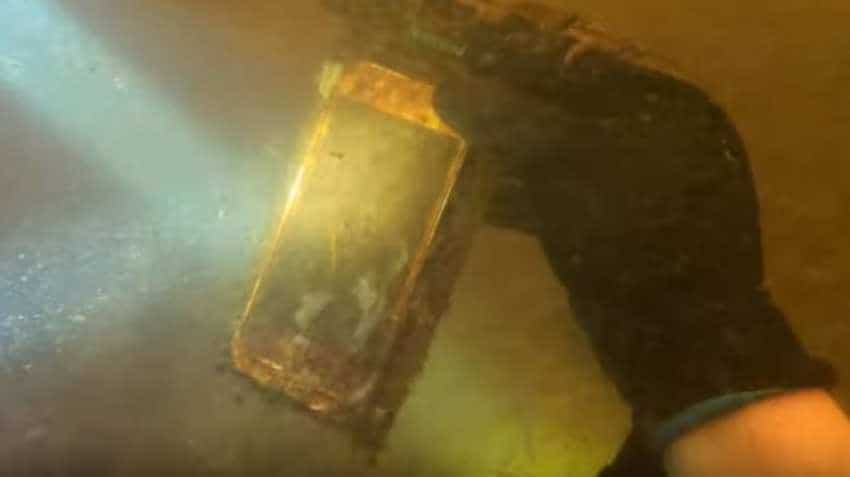 Apple iPhone lost in river found after 15 months; it STILL WORKS!