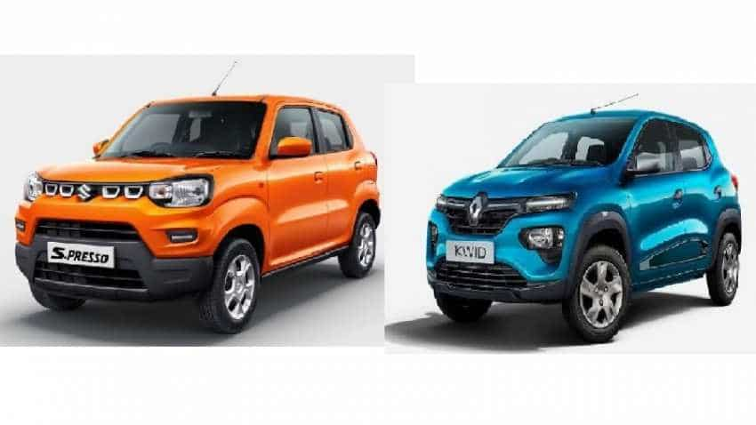 Maruti S-Presso vs Renault Kwid COMPARED! From price to specs, a brief glance at these fancy new cars