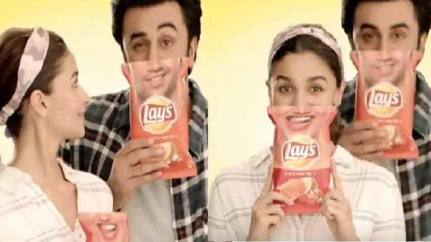 Alia Bhatt and Ranbir Kapoor turn brand ambassadors for Lay's chips