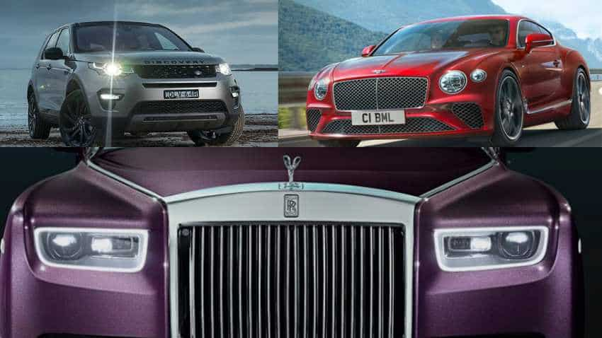 PMC Bank Scam: Rolls Royce, Range Rover and Bentley! 12 high-end cars  seized in Mumbai raids | Zee Business