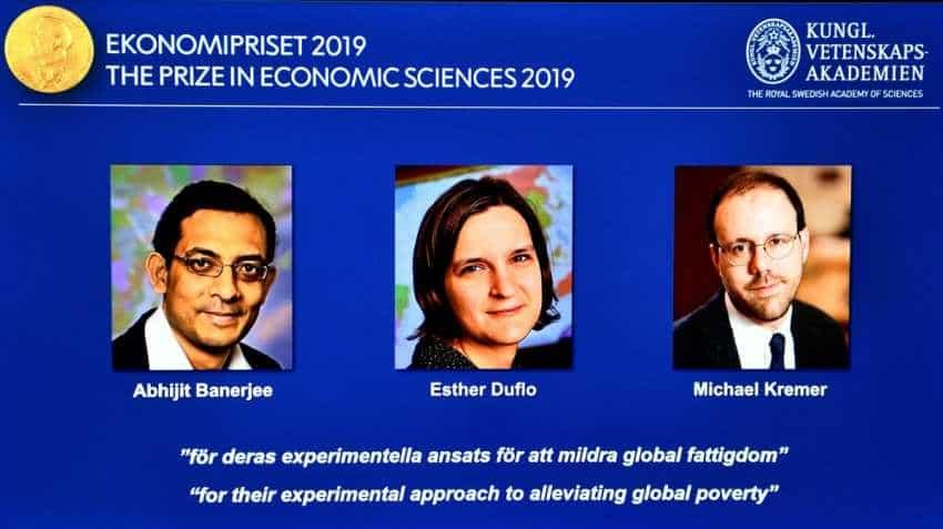 Indian-American Abhijit Banerjee wins Nobel economics prize 2019 along with Esther Duflo and Michael Kremer