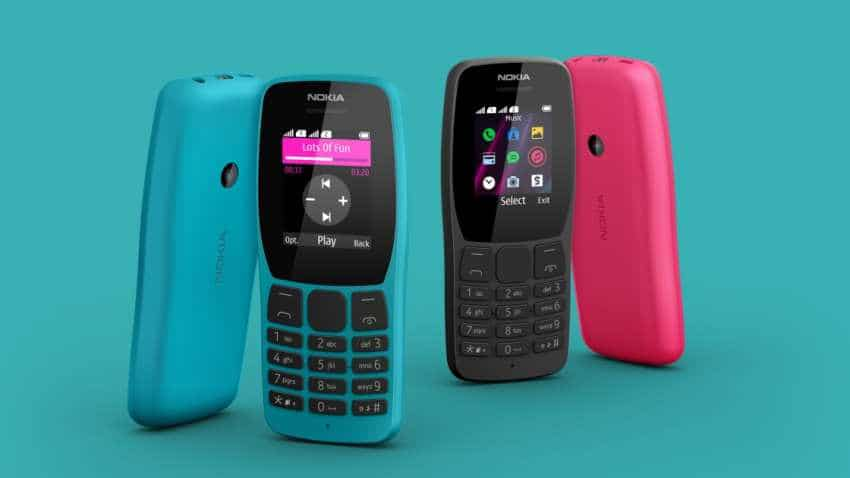 New Nokia 110 feature phone priced at Rs 1,599 launched; 'entertainment in your pocket', company claims