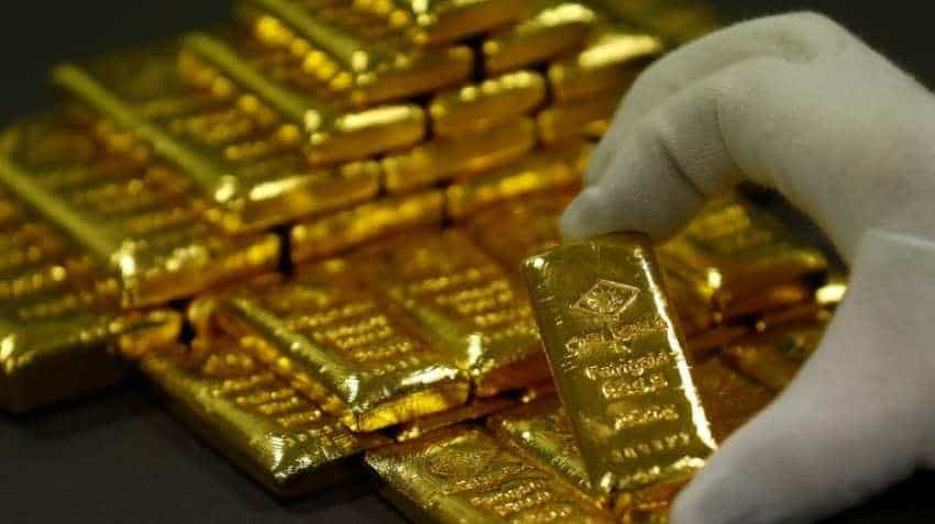 Gold prices hit two-week high as weak U.S data boosts rate-cut bets