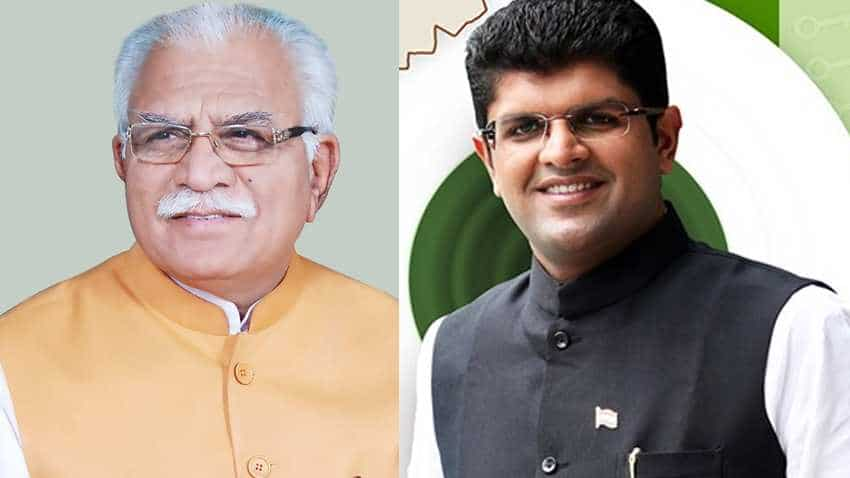 Oath-taking ceremony: Check date, time, place - Khattar to be Haryana CM, Dushyant Chautala will be Deputy CM