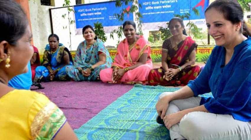 HDFC Bank Brand Parivartan in action - Ashima Bhat, Group Head, CSR explains what it is all about