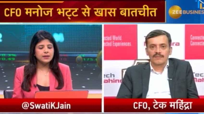 Tech Mahindra's core margin will continue to improve in future: Manoj Bhat, CFO