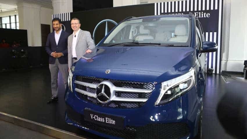 What a luxury MPV! Mercedes-Benz launches V-Class Elite, priced at Rs 1.10 cr - Check top features