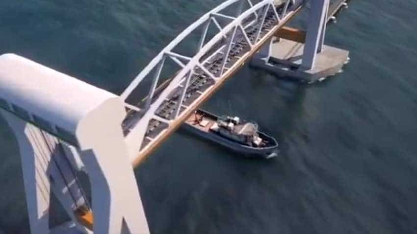 WATCH: How India's first moving bridge will look and function