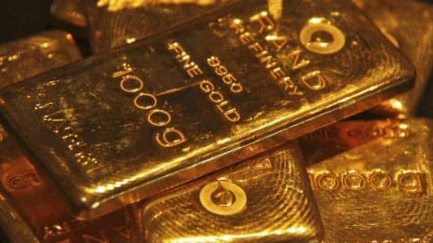 Gold slips to over three-month low as equities rise on ''risk-on'' sentiment