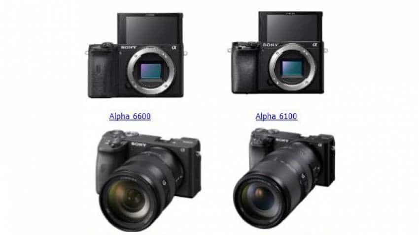 Sony launches Alpha 6600, 6100 with two new APS-C zoom lenses: Check price, features